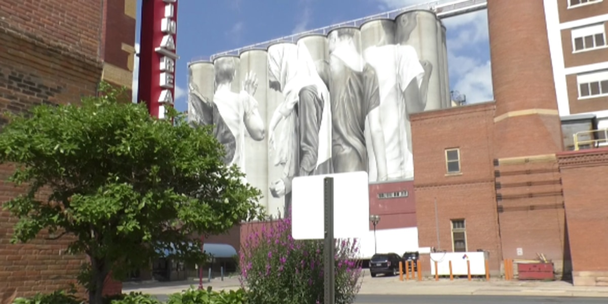The Silo Art Project is completed after 2-years of work by Guido van Helten