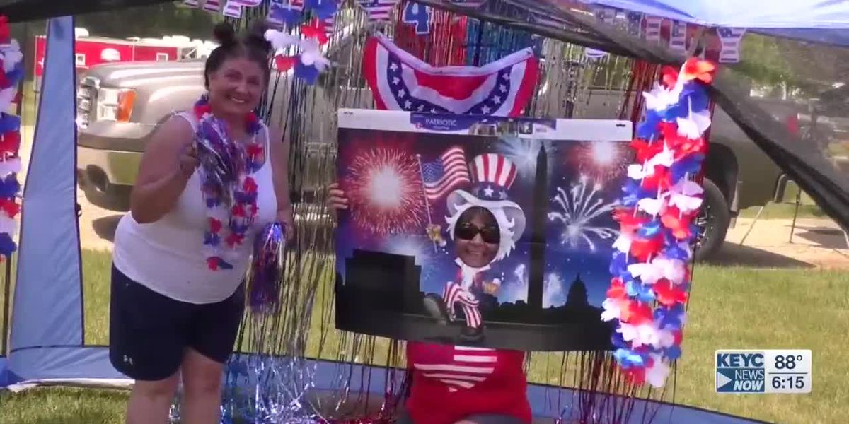 Campers get festive with 4th of July campsite decorating contest