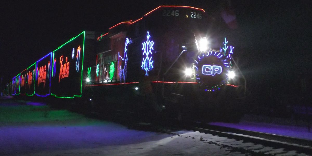 Canadian Pacific Holiday Train stops in Waseca and Janesville