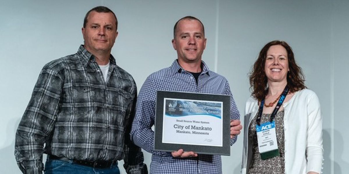 Mankato nationally recognized for high water quality