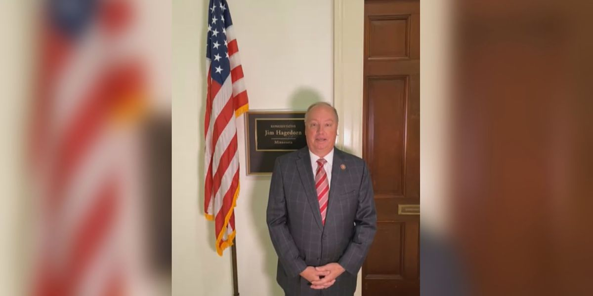 Rep. Hagedorn provides cancer fight update, says he feels great and continues to fight through it