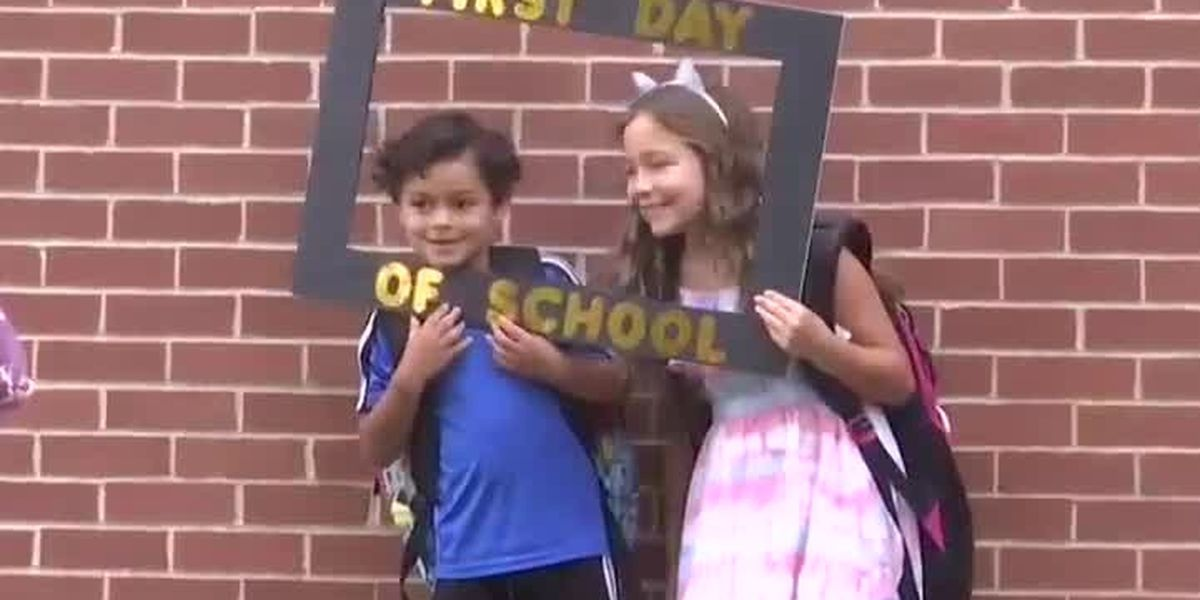 Kennedy Elementary School, students celebrate first day of new academic year