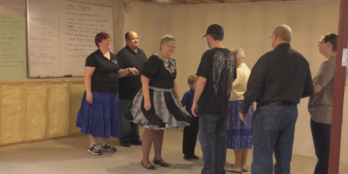 Group keeps square dancing alive