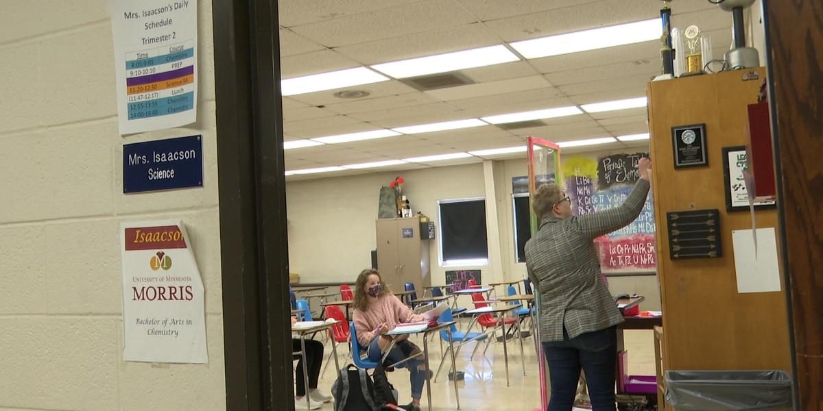 Maple River High School educator receives Golden Apple