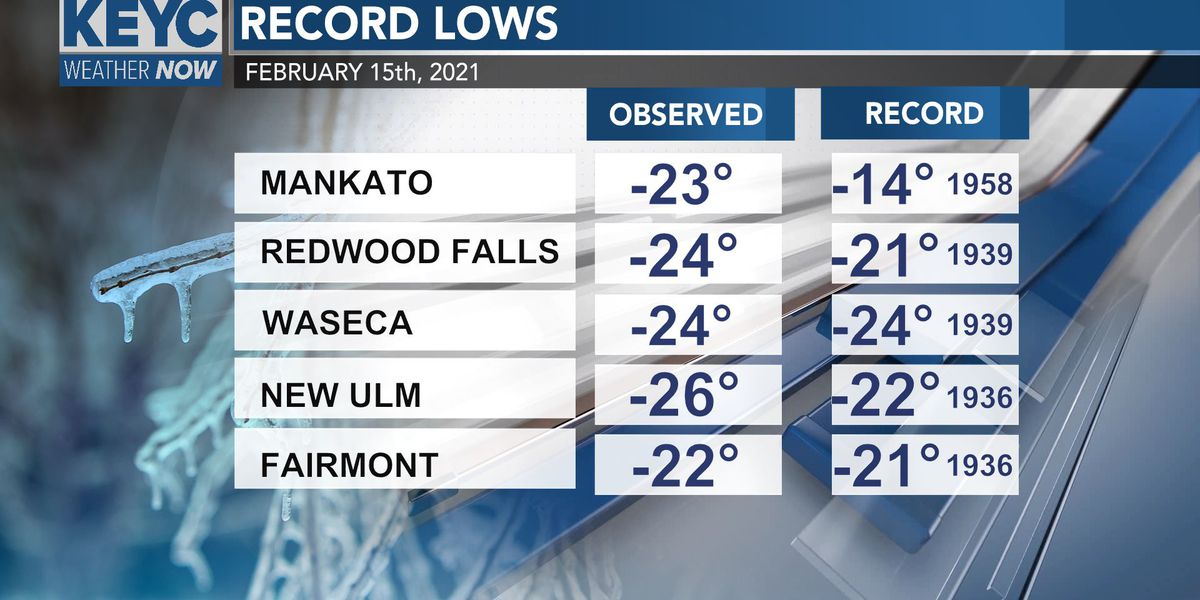 Record cold blankets much of the US