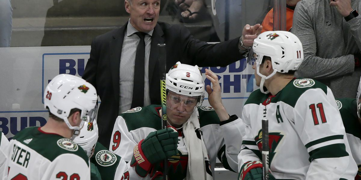 Wild drop interim tag to make Dean Evason full-time coach