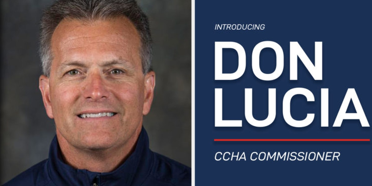 Don Lucia named CCHA commissioner; intends to bring in more teams that fit the mold