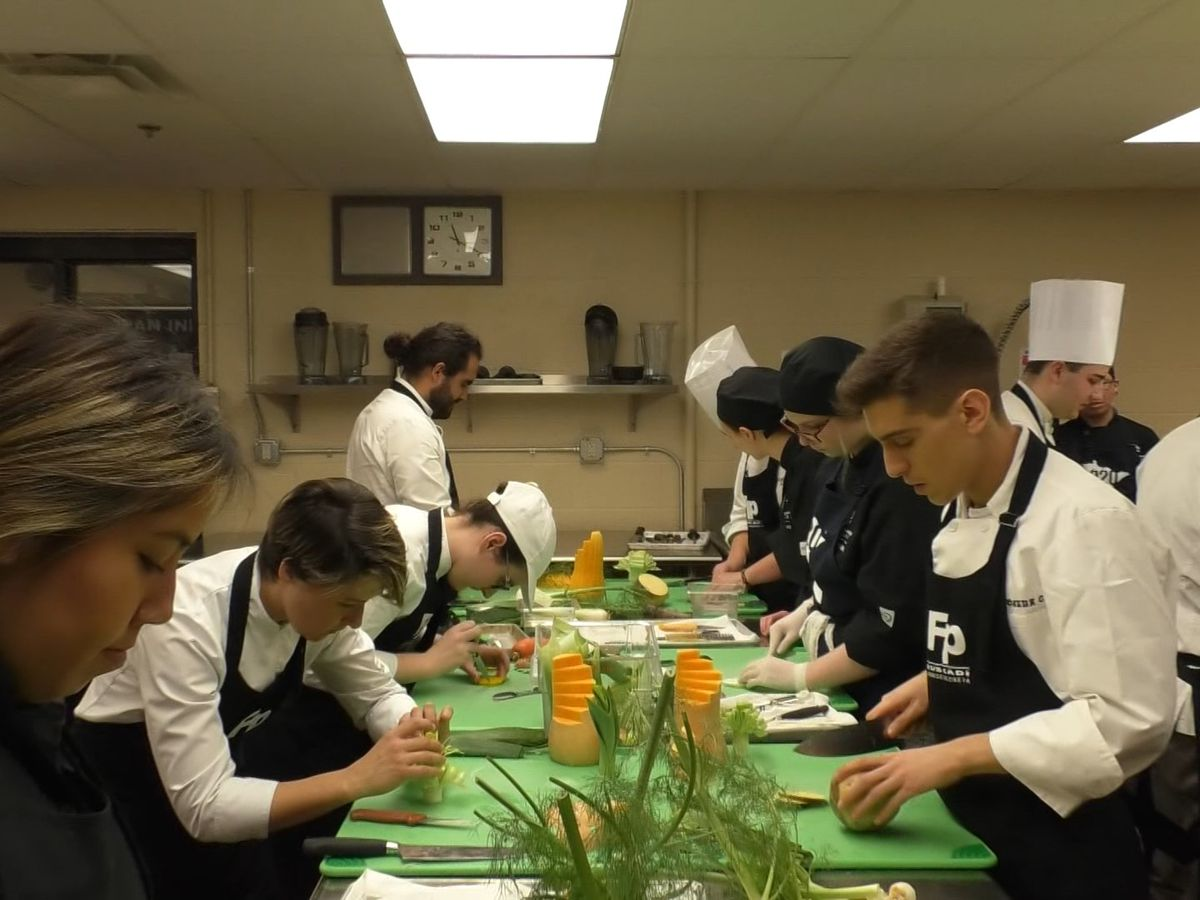 South Central College hosts culinary students from Basque Region of Spain and France