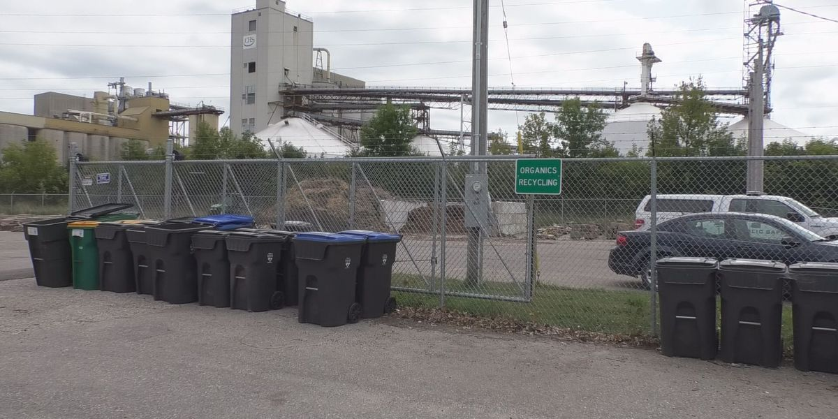 Dumpsters for compostable materials will return to Sibley Park, Mankato Public Works Center Friday