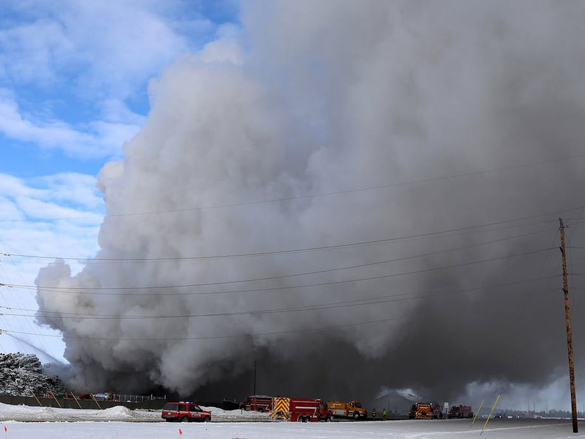 Fire at Minnesota recycling plant affecting air quality