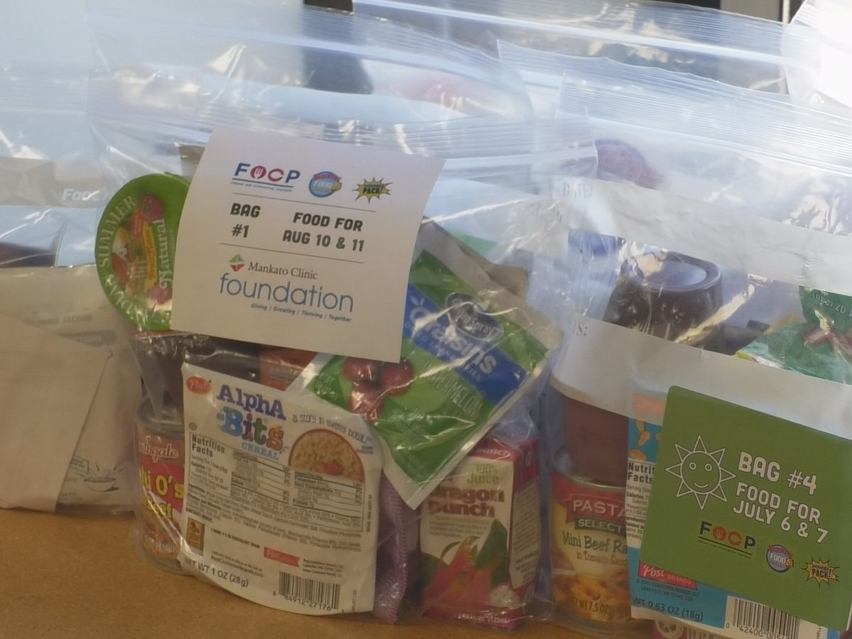 Backpack Food program expands