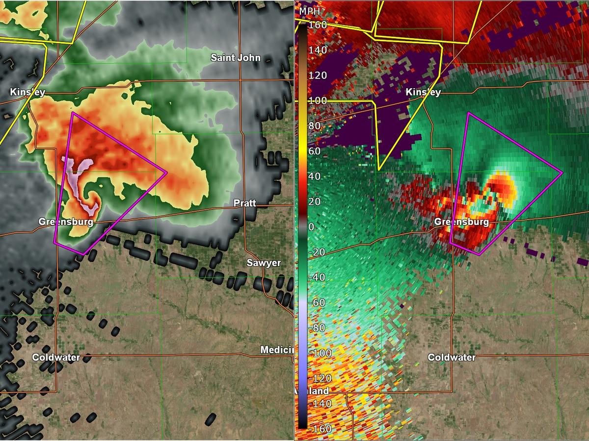May 4th, 2020 marks the 13 anniversary of the Greensburg, KS tornado