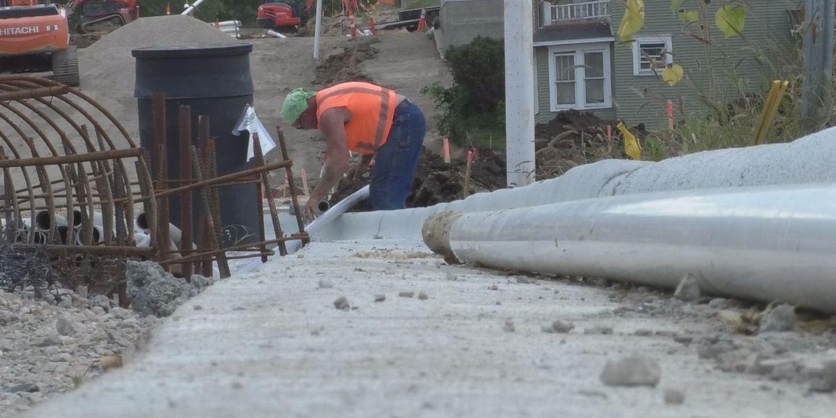 Cherry Street construction ahead of schedule