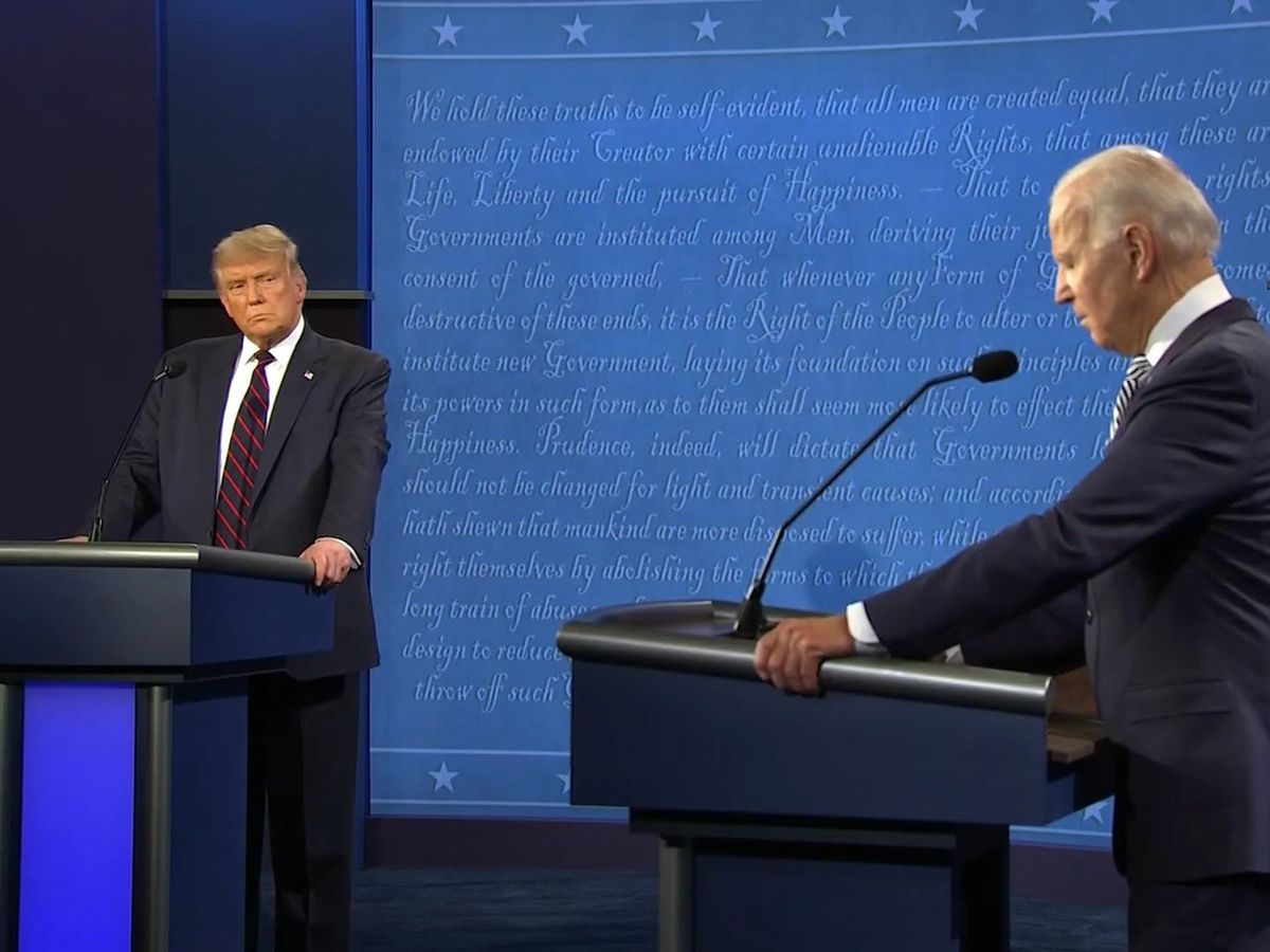 Local politicians, political experts react to the first presidential debate