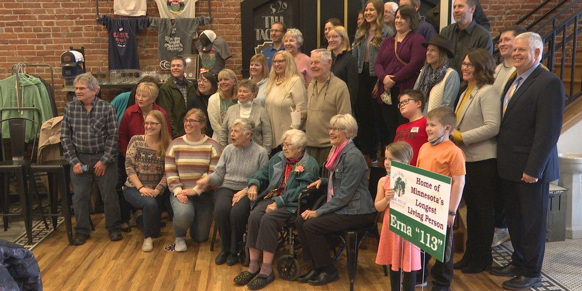 Minnesota's oldest resident turns 113