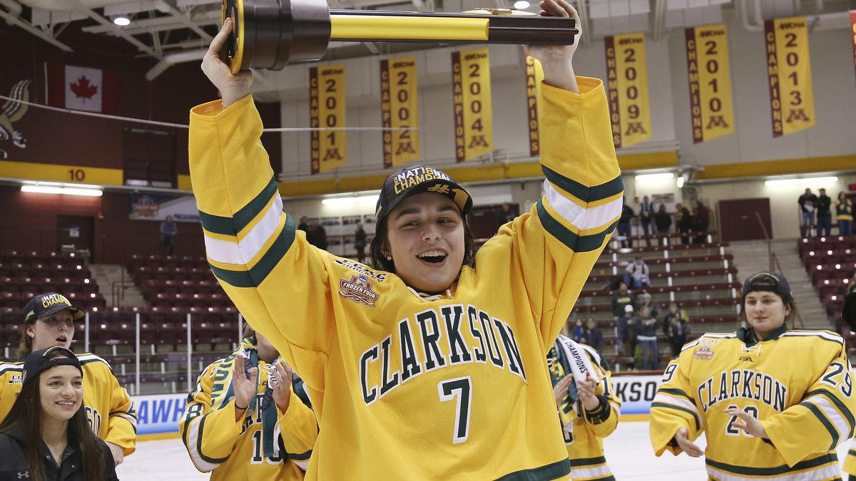 Clarkson's Elizabeth Giguere wins Kazmaier Award