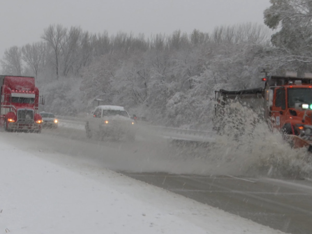 First snow storm affects roads, drivers in the area