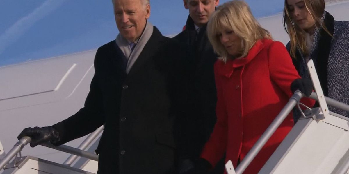 Former Vice President Joe Biden's campaign visits Northern Iowa