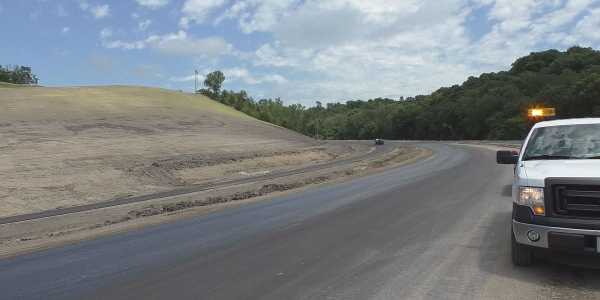 MnDOT began the paving process on intersection in New Ulm