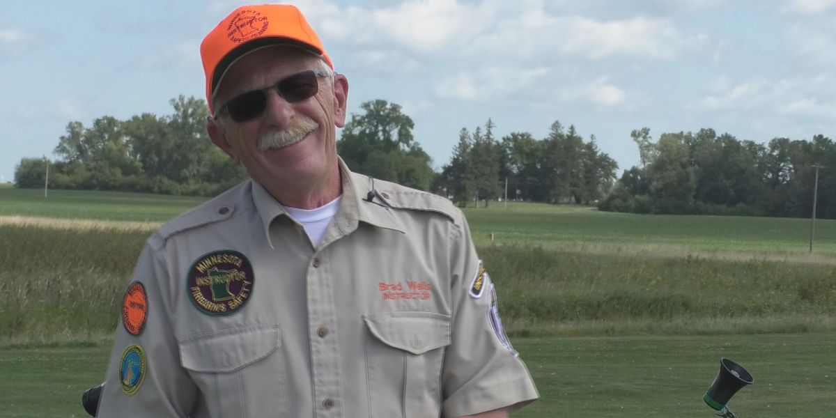 Fairmont man awarded DNR Firearms Safety Instructor of the Year award