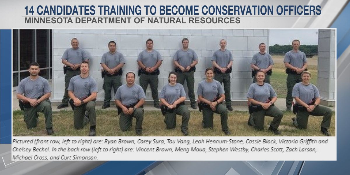 Next line of conservation officers in training