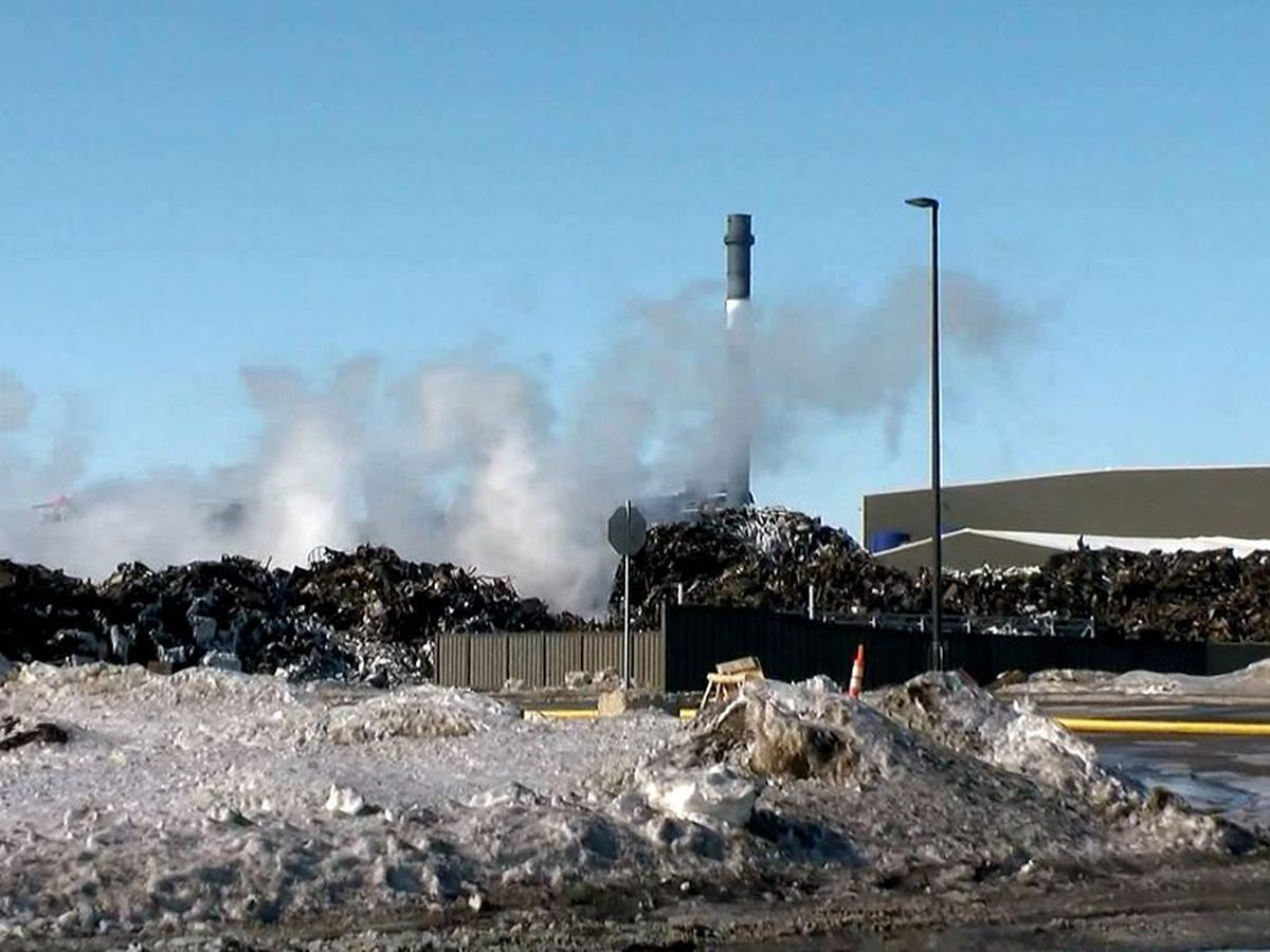 Metal recycling factory fire put out after burning for days