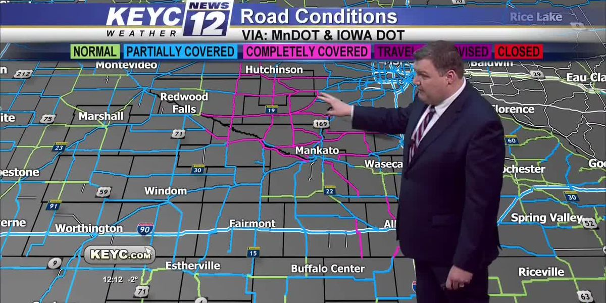 KEYC News 12 Midday Weather At Noon 12020