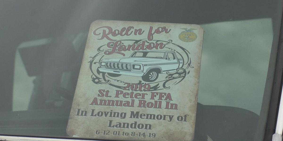 Car Roll-in raises $24,000 in honor of Landon Gran