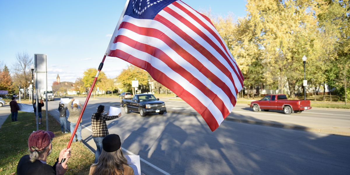PHOTOS: More protests over Rep. Jim Hagedorn