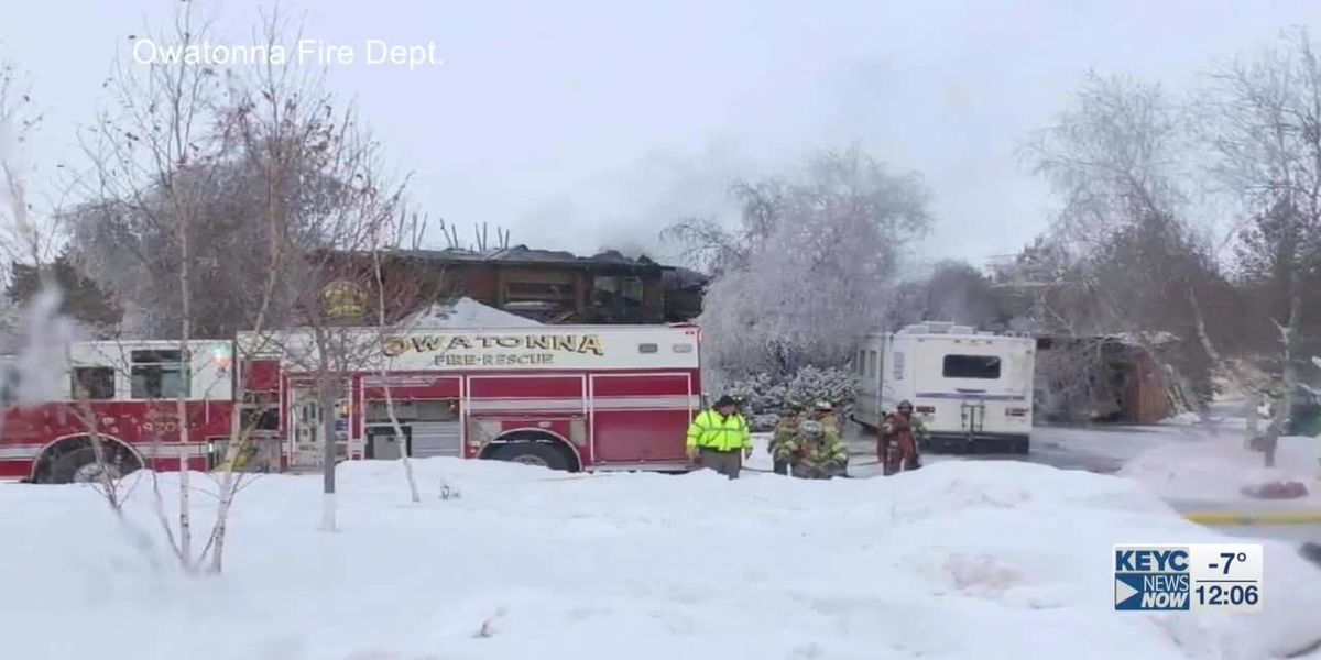 Owatonna home damaged by fire