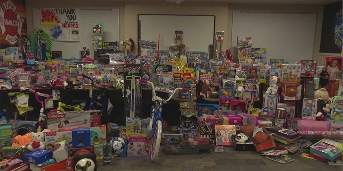 Mankato Public Safety donates thousands of toys to local kids