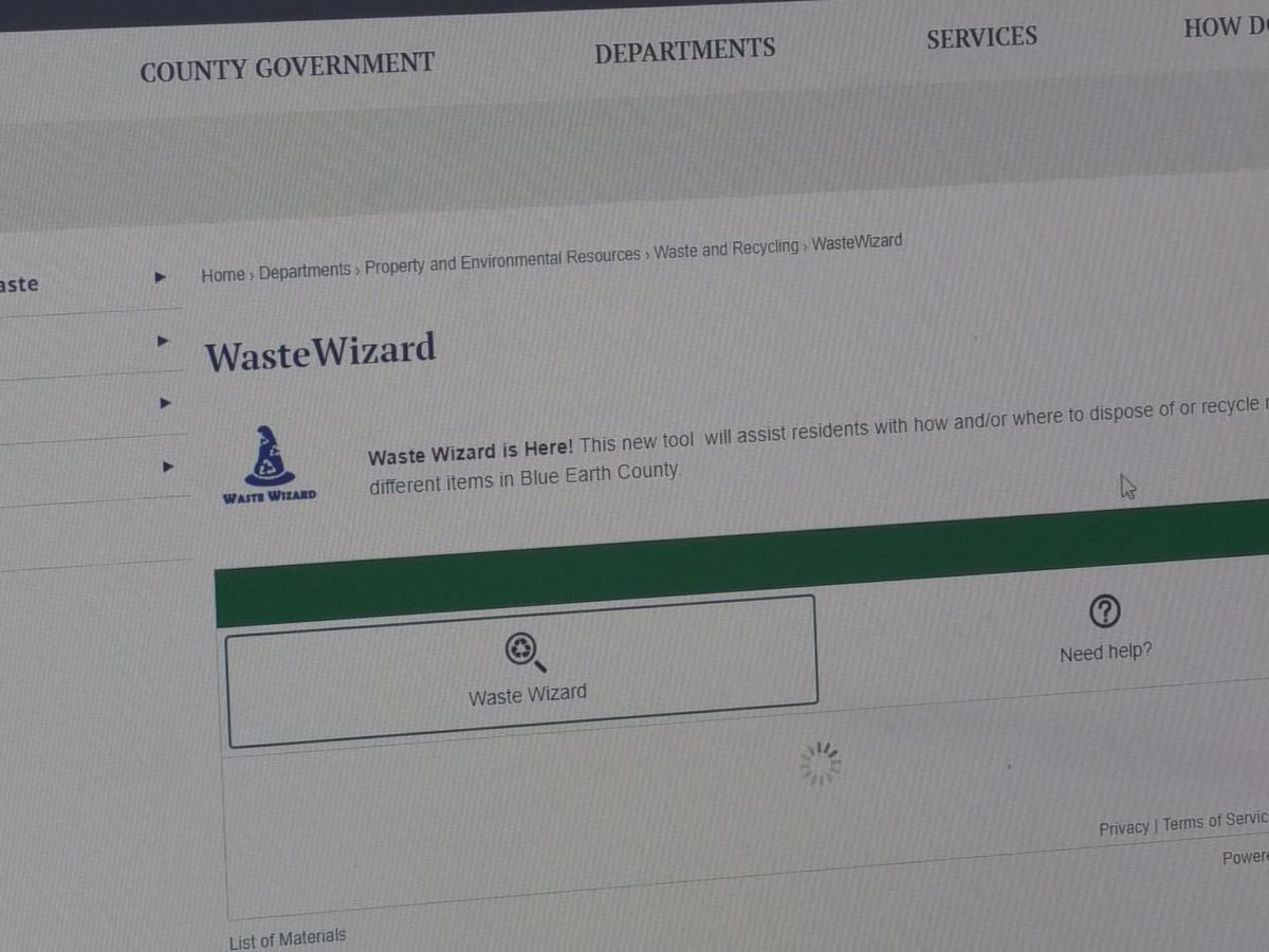 Blue Earth County implements waste finding tool