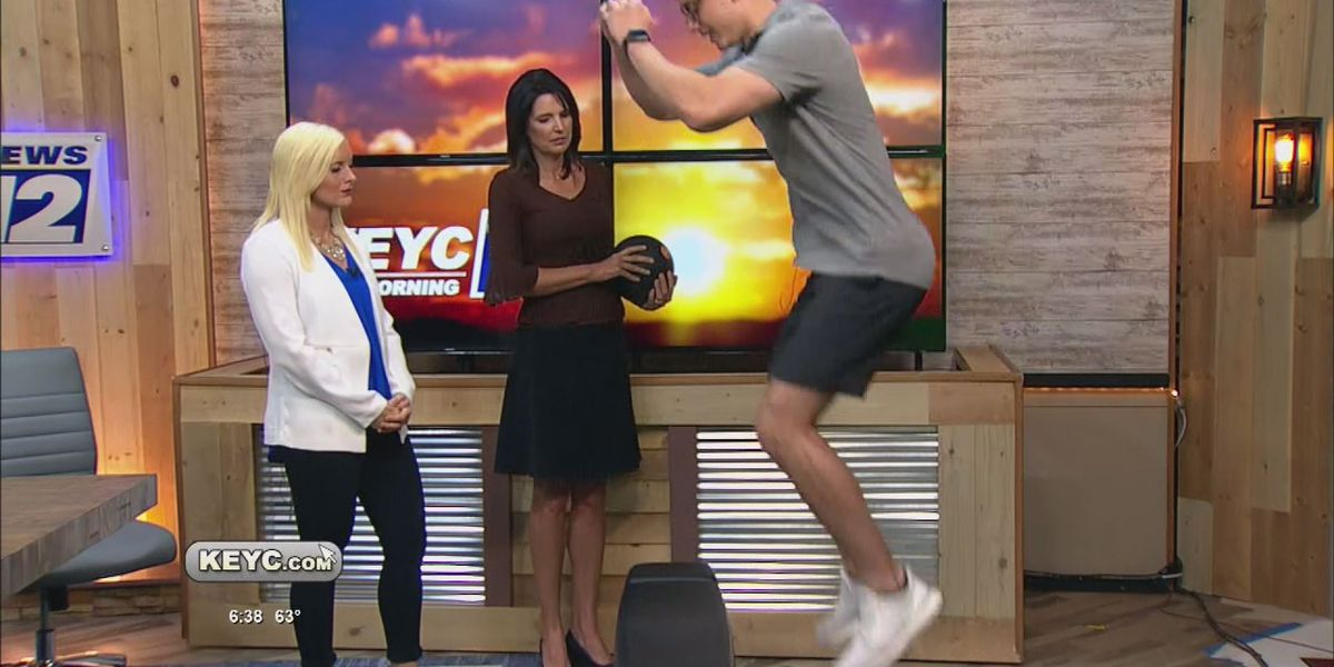 A lesson in plyometrics with JP Fitness