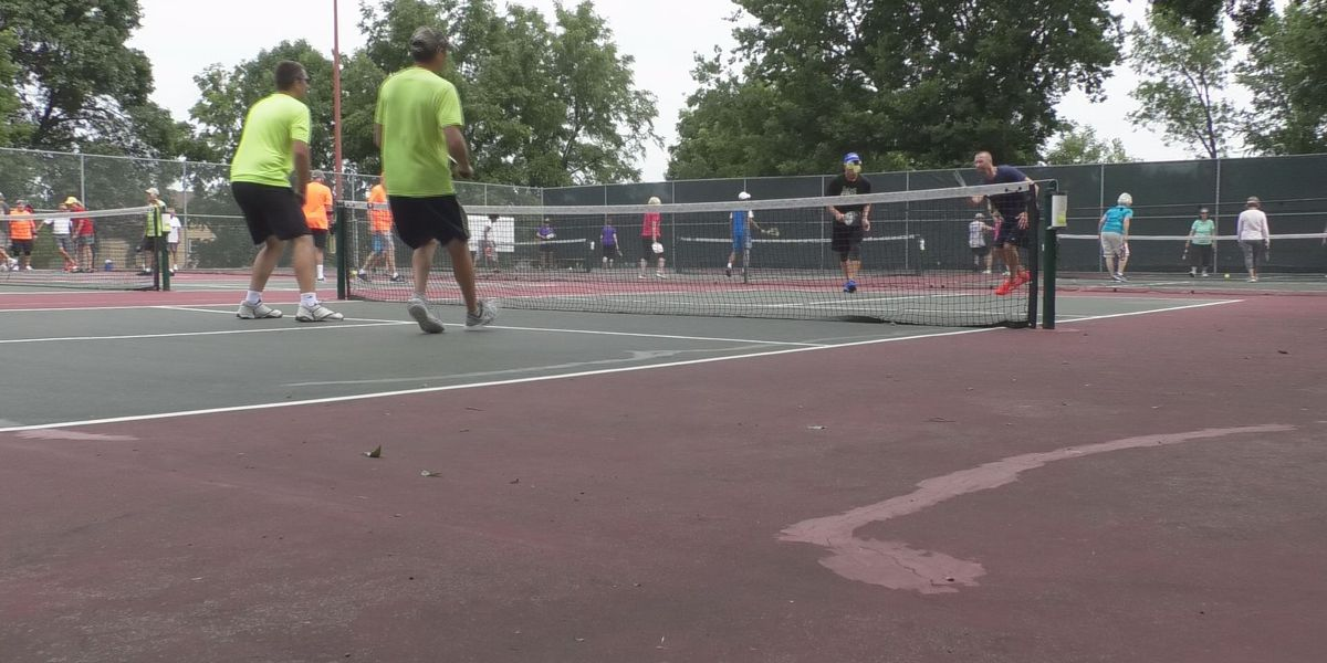 Pickleball, tennis courts opening today