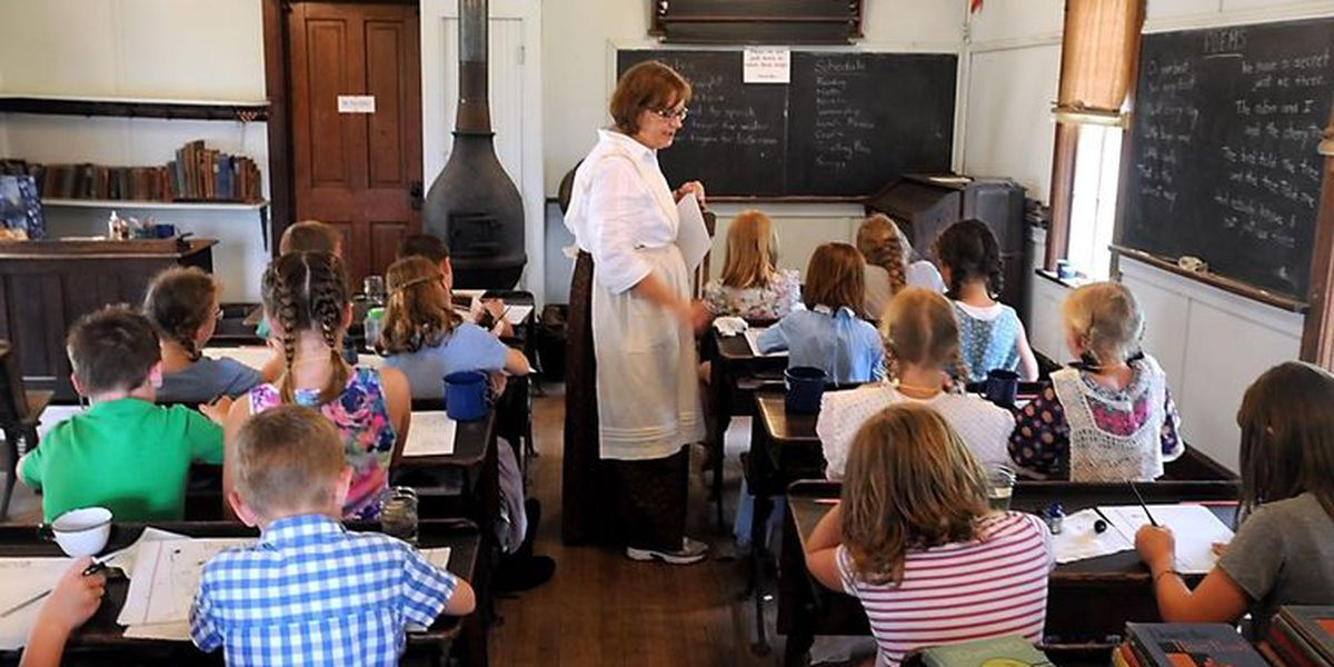 Brown County Historical Society giving kids the chance to experience one room schoolhouse