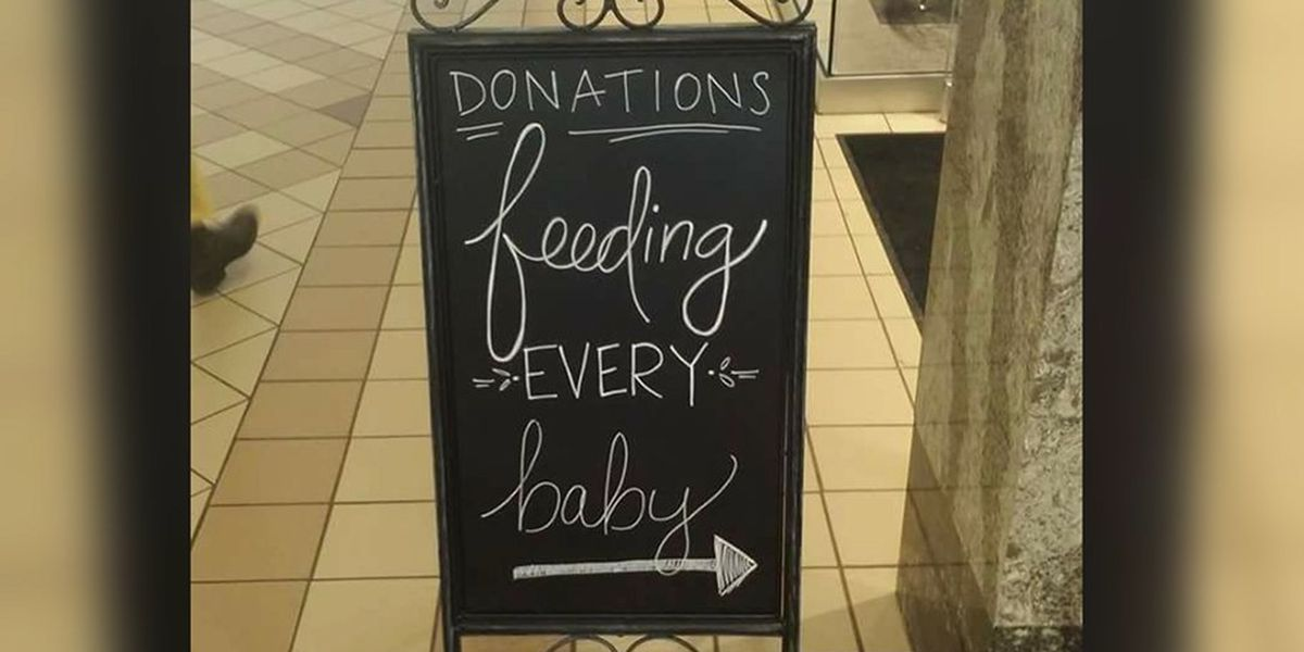 Local woman's organization provides food,supplies for babies cost free