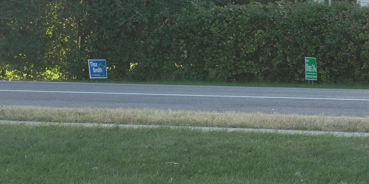 Officials explain the do's and don'ts of campaign and lawn signs after Waseca residents experience theft