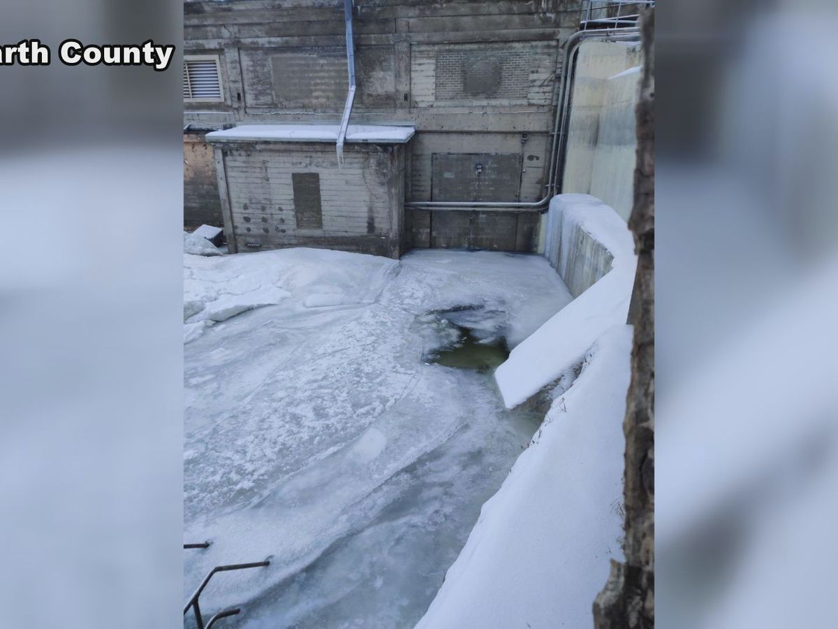 Rising waters cause damage at Rapidan Dam