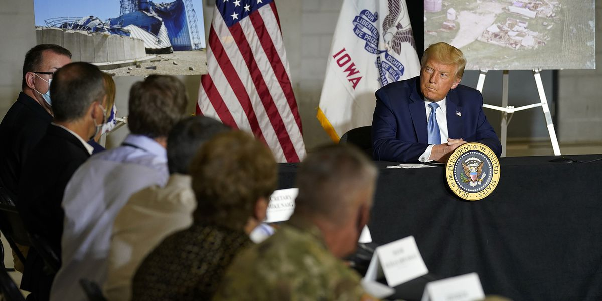 Trump signs only a portion of Iowa's disaster relief request