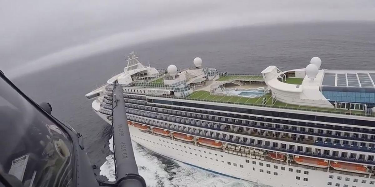 California prepares to dock cruise ship with 21 coronavirus cases