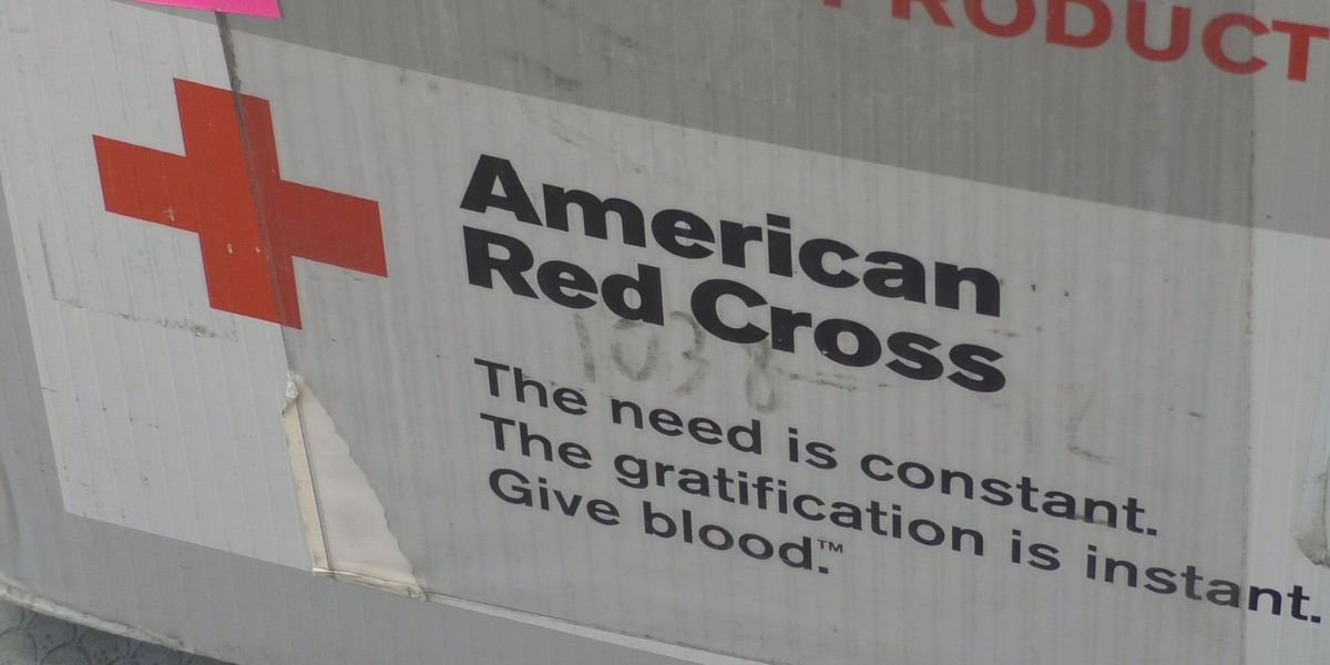 Red Cross: 'Extreme' shortage of blood
