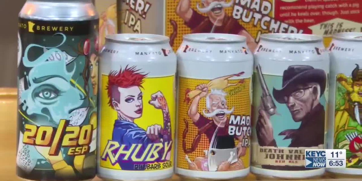 Mankato Brewery draws inspiration from community for label art