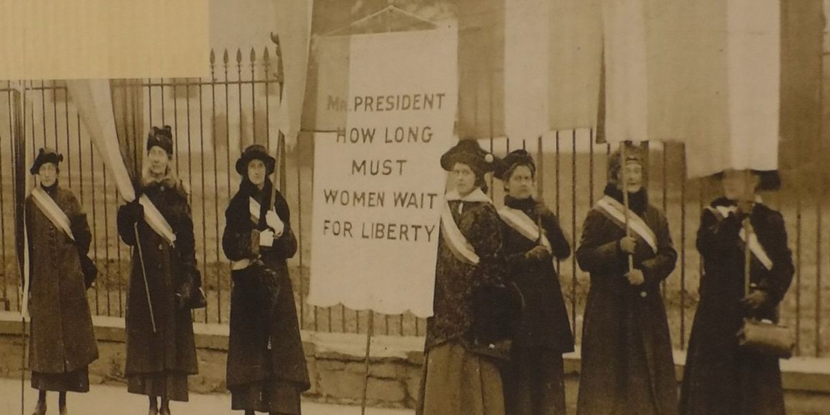 Blue Earth County Historical Society commemorates 100 years of women's right to vote