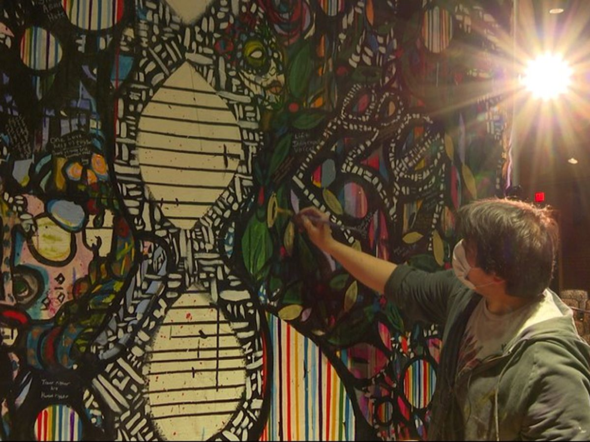Local artist creates piece for MSU that aims to lift student voices