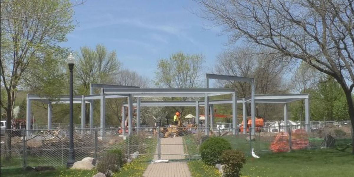 BluesFest Still On Despite Pavilion Construction