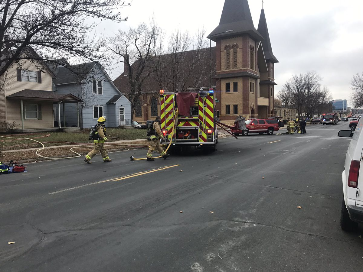 Mankato house fire causes more than $100,000 in damage