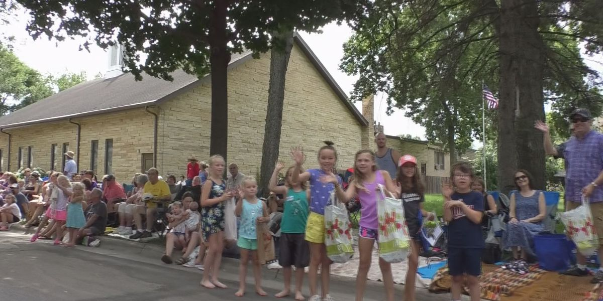 Hundreds of people attend North Mankato Fun Days parade