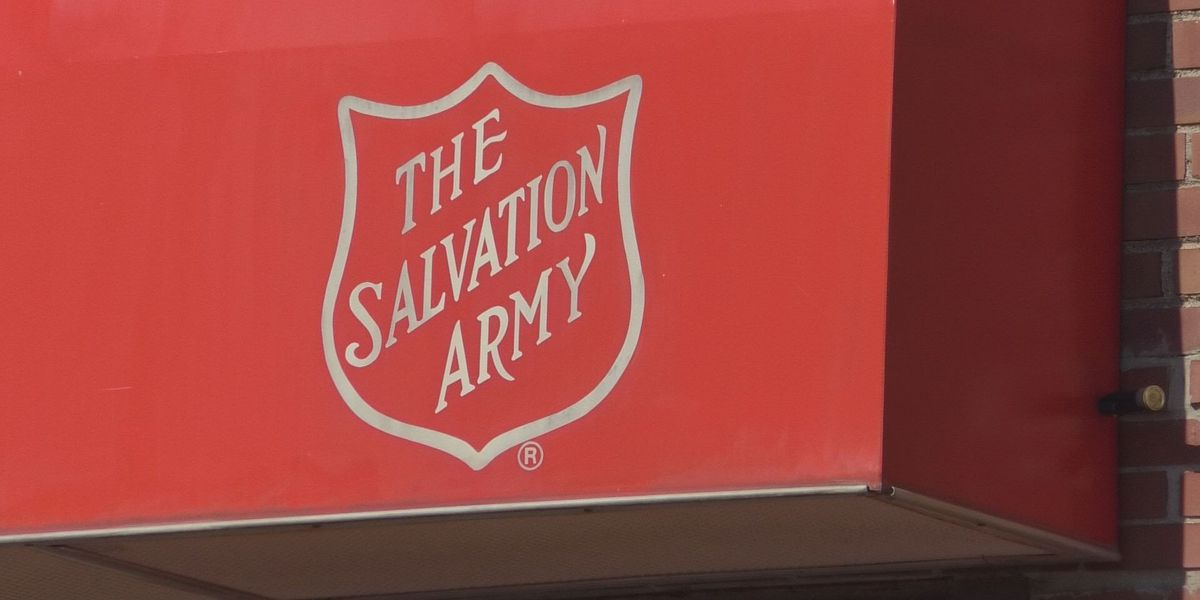 Salvation Army delivering lunch to caregivers