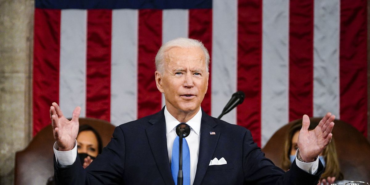 Biden's declaration: America's democracy 'is rising anew'