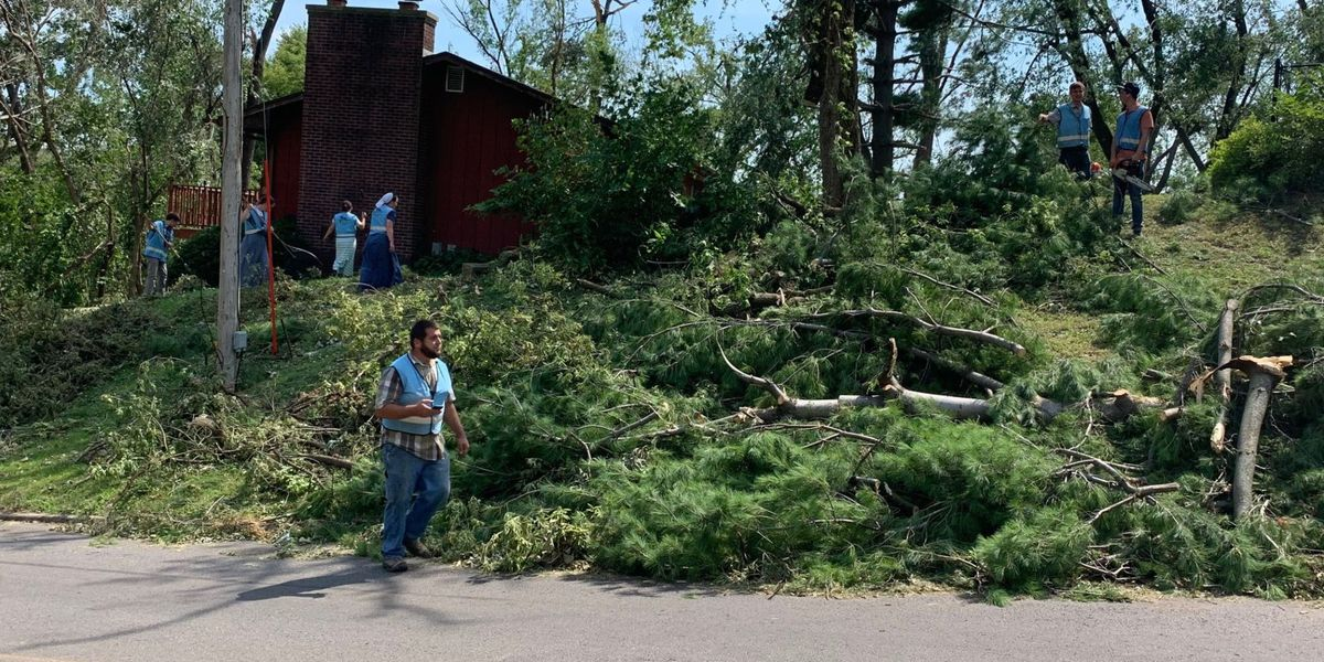 Trump signs Iowa disaster declaration, to visit Tuesday